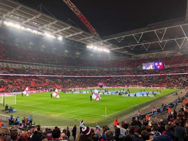 Wembley Stadium, secção: 130, fila: 22, lugar: 192