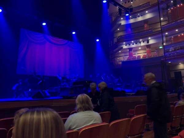 Symphony Hall (Birmingham), secção: Stalls, fila: B, lugar: 28
