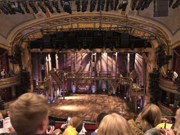 Richard Rodgers Theatre, secção: Front Mezzanine C, fila: E, lugar: 103