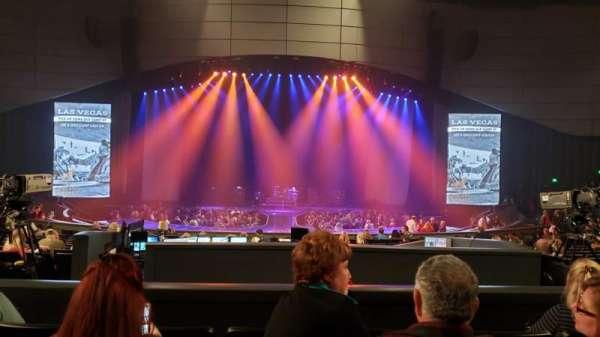 Zappos Theater, secção: 205, fila: D, lugar: 7