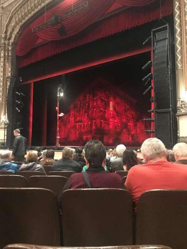 Golden Gate Theatre, secção: Orchestra R, fila: K, lugar: 24