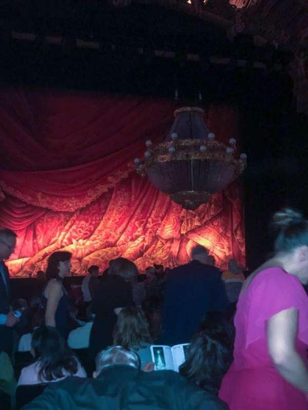 Majestic Theatre - San Antonio, secção: Orchestra LC, fila: P, lugar: 115