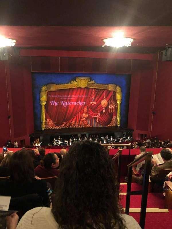 The Kennedy Center Opera House, secção: First Tier-Left, fila: F, lugar: 101