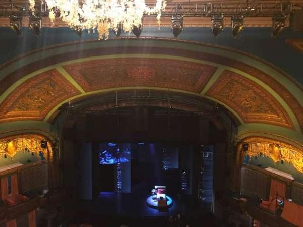 Curran Theater, secção: Balcony, fila: E, lugar: 110