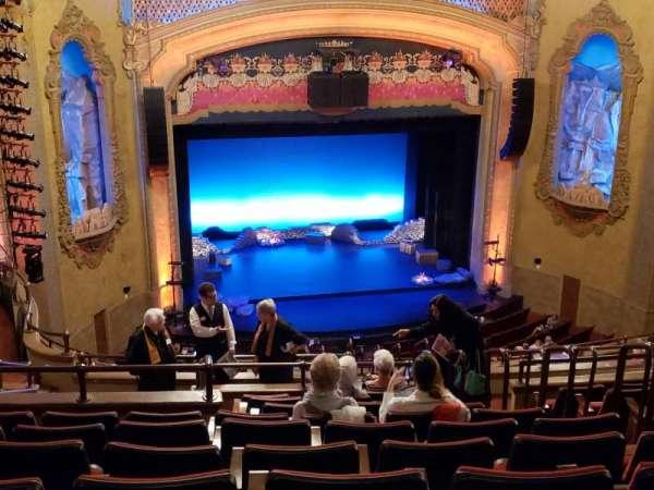 Balboa Theatre, secção: Balcony2, fila: P, lugar: 9