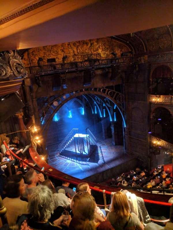 Palace Theatre (West End), secção: Grand Circle, fila: E, lugar: 35