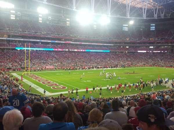 State Farm Stadium, secção: 135, fila: 37, lugar: 33