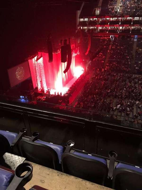 The O2 Arena, secção: 403, fila: C, lugar: 501