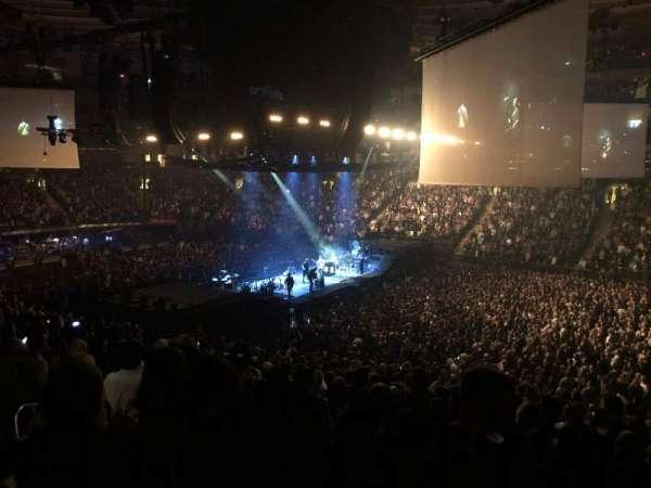 Madison Square Garden, secção: 119, fila: 22, lugar: 11