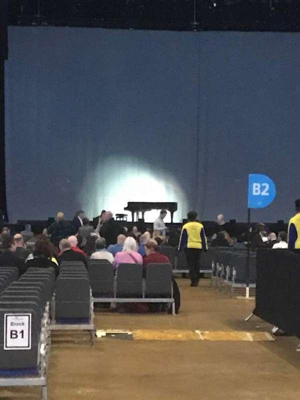 The O2 Arena, secção: D1, fila: C, lugar: 11
