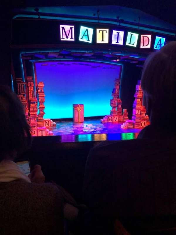 Walnut Street Theatre, secção: Mezzanine Left, fila: D, lugar: 202