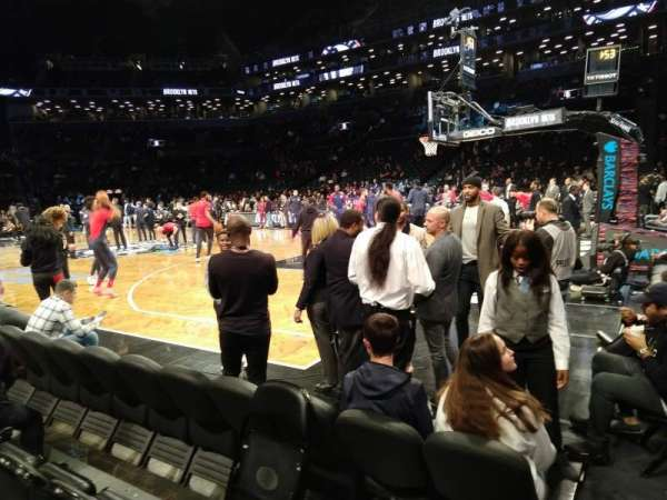 Barclays Center, secção: 19, fila: D, lugar: 13