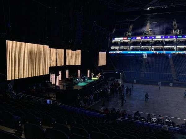 The O2 Arena, secção: 101, fila: X, lugar: 34
