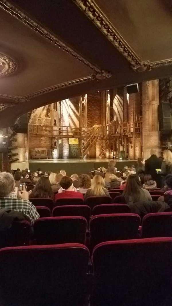 CIBC Theatre, secção: Orchestra, fila: U, lugar: 13