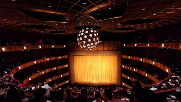 David H. Koch Theater, secção: 4th rink, fila: F, lugar: 111