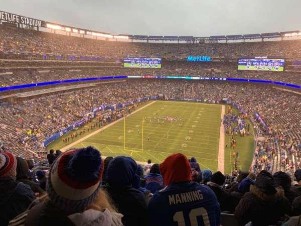 MetLife Stadium, secção: 224b, fila: 12, lugar: 22