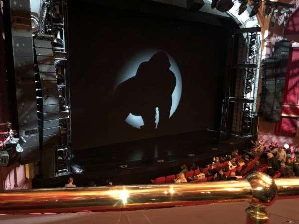Broadway Theatre - 53rd Street, secção: Front Mezzanine L, fila: A, lugar: 8