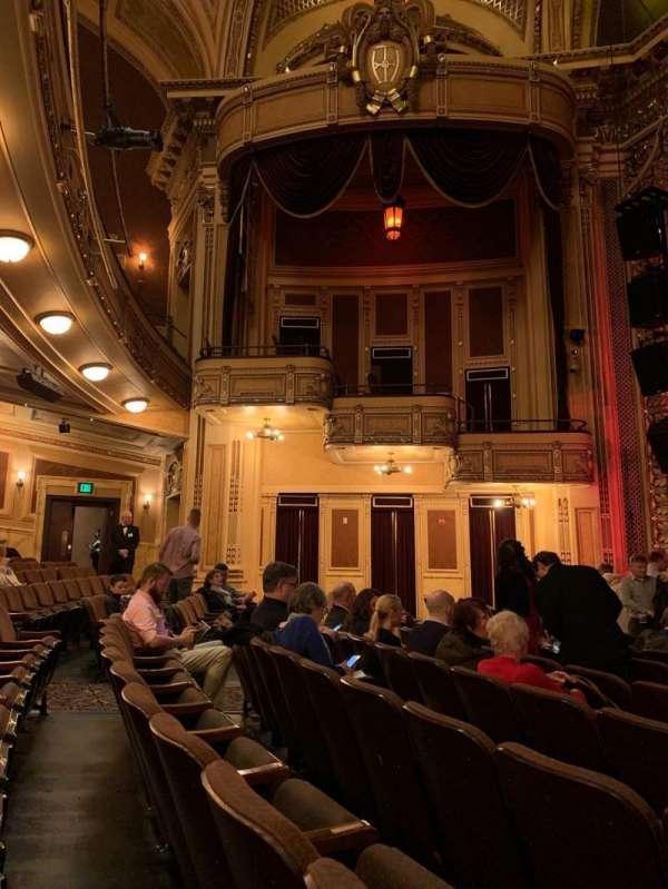 Hippodrome Theatre, secção: Center orchestra, fila: L, lugar: 112