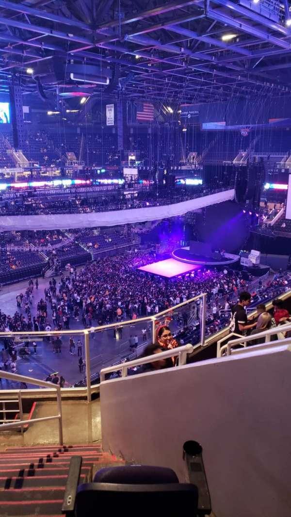 PHX Arena, secção: 206, fila: 7, lugar: 10
