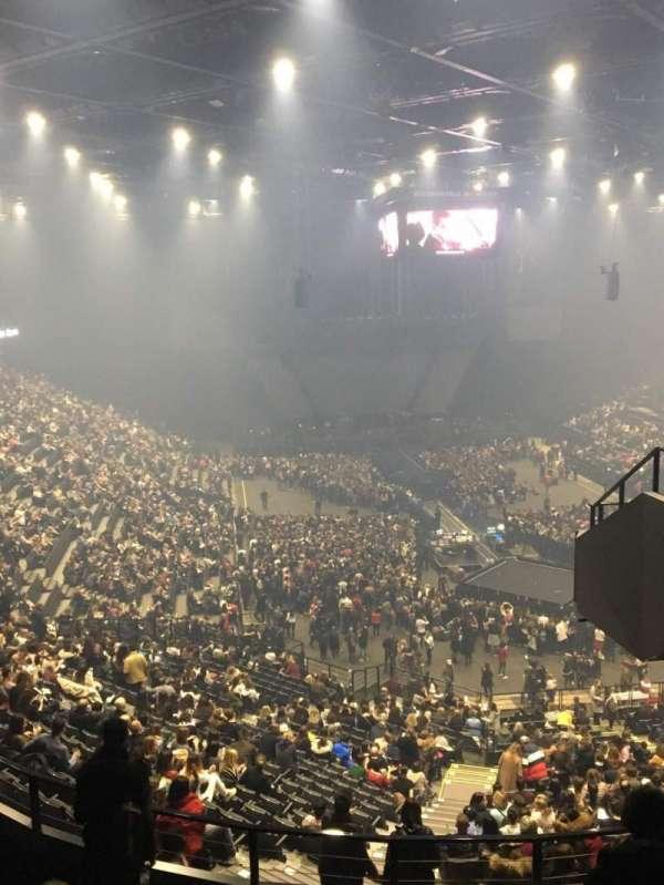 AccorHotels Arena, secção: U, fila: 87, lugar: 7