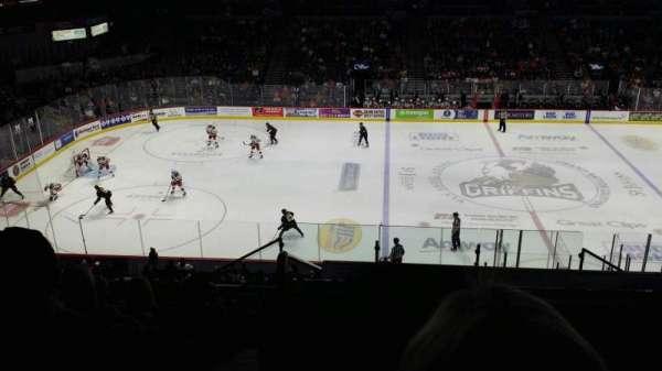 Van Andel Arena, secção: 209, fila: J, lugar: 1