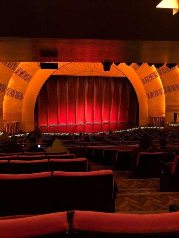 Radio City Music Hall, secção: 1st Mezzanine 6, fila: J, lugar: 602