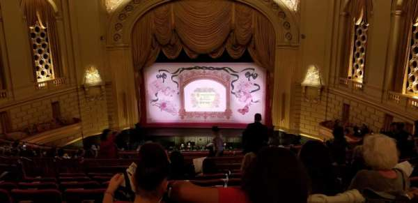 War Memorial Opera House, secção: Dress Circle, fila: H, lugar: 114