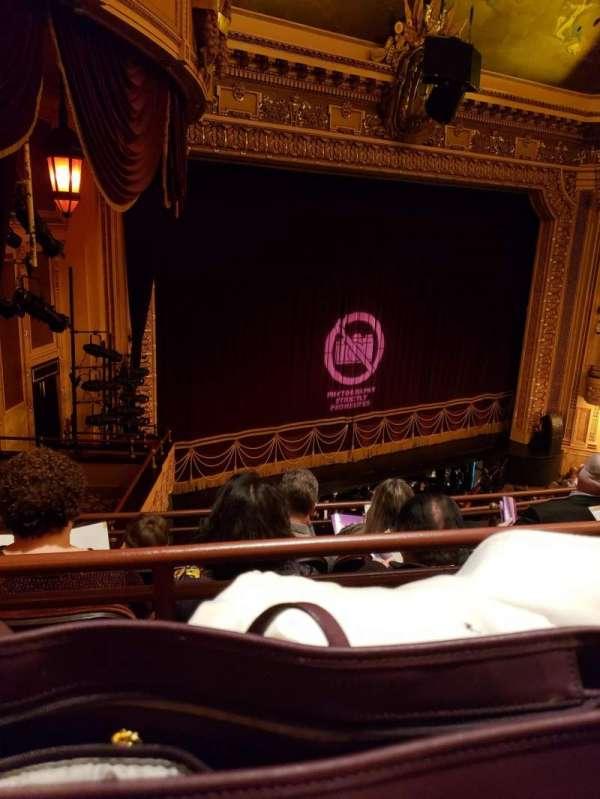 Hippodrome Theatre, secção: LMBAL, fila: D, lugar: 215