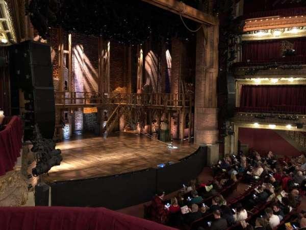 CIBC Theatre, secção: Dress circle right, fila: Box 1, lugar: 211