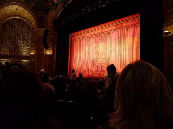 Detroit Opera House, secção: Main Floor 4, fila: L, lugar: 126