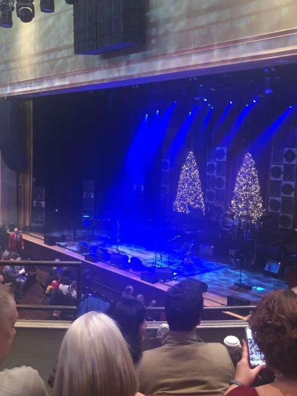 Ryman Auditorium, secção: Bal-10, fila: D, lugar: 7