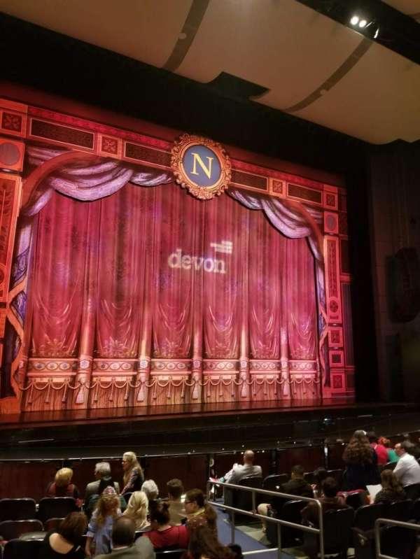 Thelma Gaylord Performing Arts Theatre, secção: Orchestra left, fila: J, lugar: 5-6