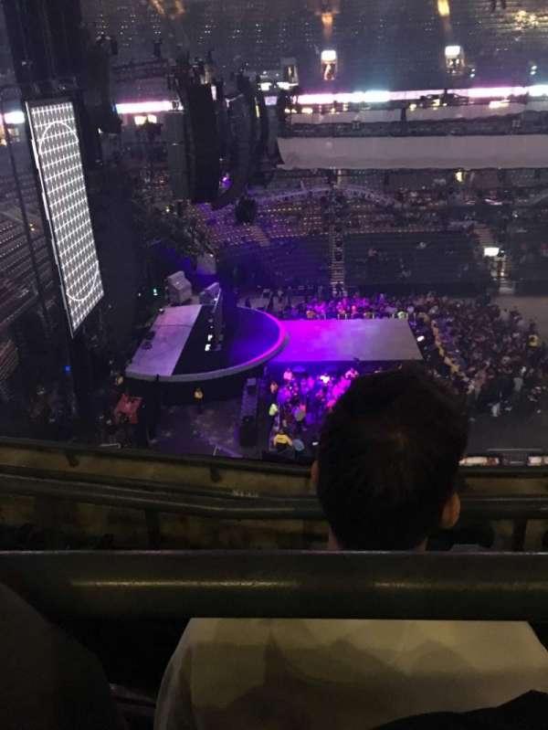 Scotiabank Arena, secção: 311, fila: 4, lugar: 3