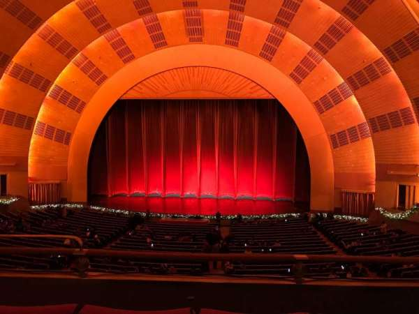 Radio City Music Hall, secção: 1ST Mezzanine 3, fila: C, lugar: 311