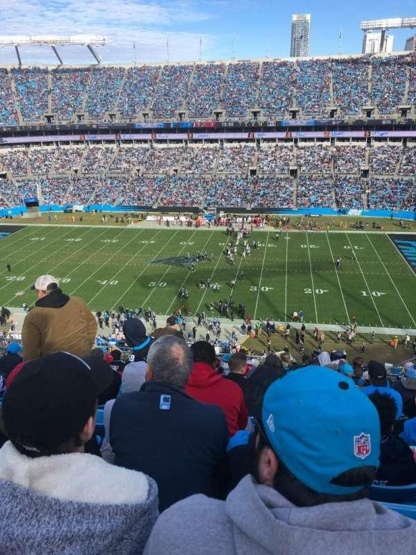 Bank of America Stadium, secção: 540, fila: 10, lugar: 11