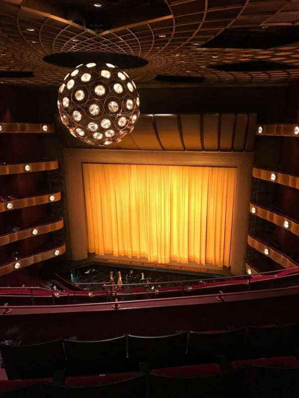 David H. Koch Theater, secção: 4th Ring, fila: F, lugar: 10