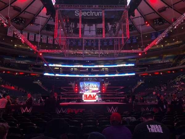 Madison Square Garden, secção: Floor B, fila: 11, lugar: 12