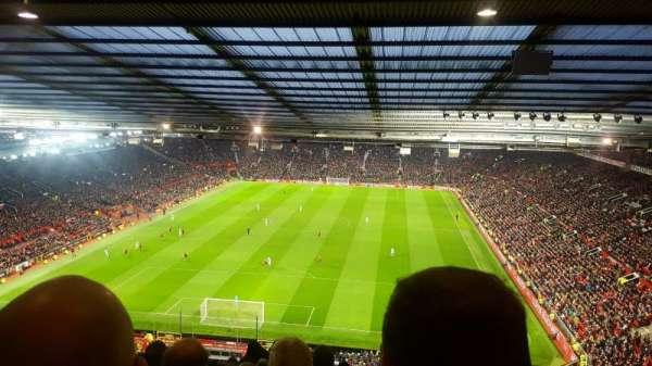 Old Trafford, secção: E335, fila: 28, lugar: 49