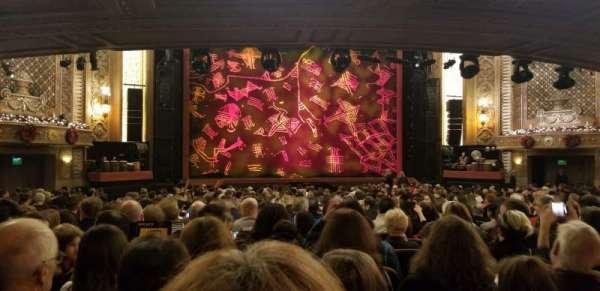 Paramount Theatre (Seattle), secção: MF3, fila: CC, lugar: 10