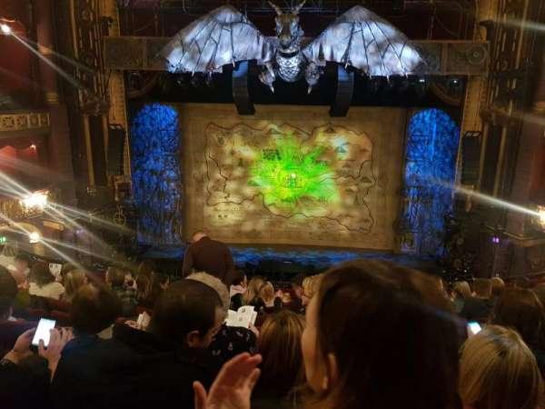 Palace Theatre (Manchester), secção: Circle, fila: J, lugar: 25