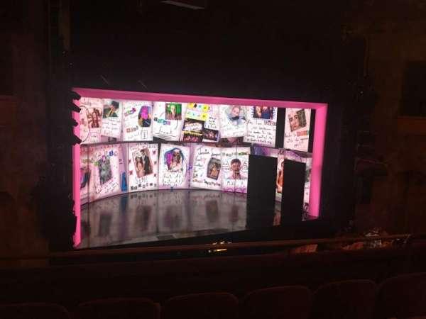 August Wilson Theatre, secção: Mezzanine L, fila: D, lugar: 11