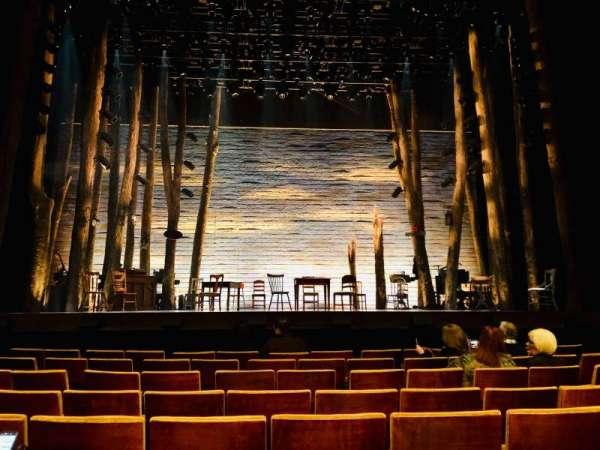 Ahmanson Theatre, secção: Orchestra, fila: F, lugar: 21