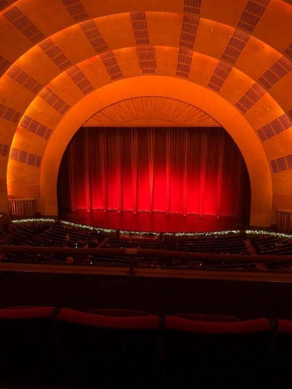 Radio City Music Hall, secção: 2nd mezzanine 3, fila: C, lugar: 316