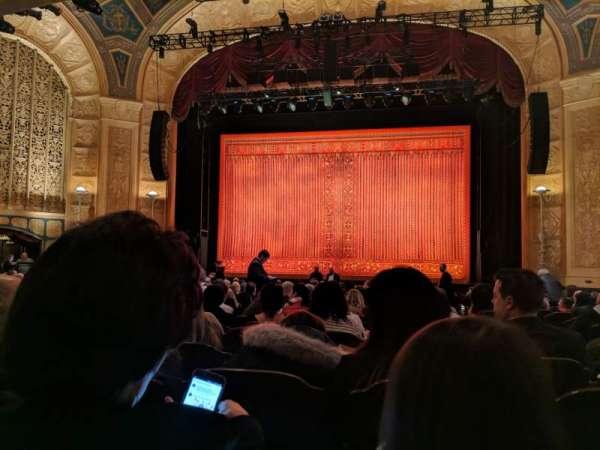 Detroit Opera House, secção: Main Floor 2, fila: U, lugar: 215