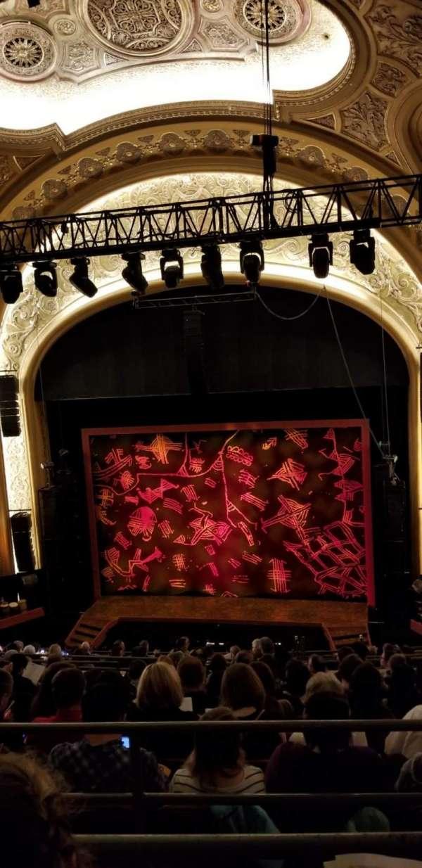 Paramount Theatre (Seattle), secção: Mezzanine 22, fila: K, lugar: 5