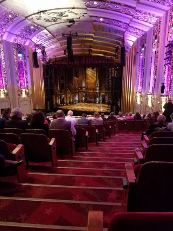 The Bushnell Center for the Performing Arts - Mortensen Hall, secção: Mezzanine F, fila: L, lugar: 102