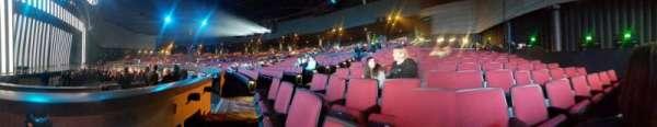 Zappos Theater, secção: 105, fila: A, lugar: 5