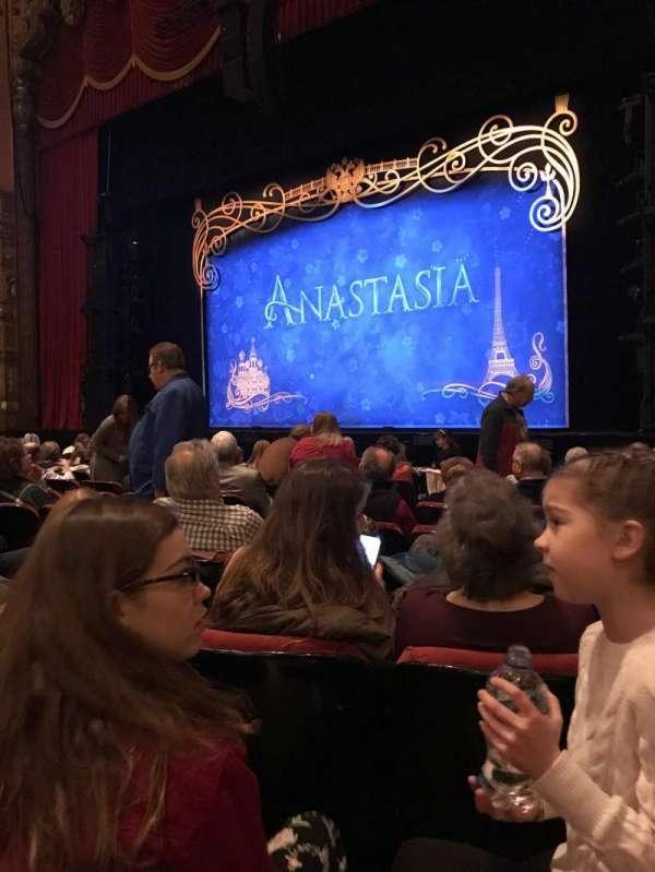 The Fabulous Fox Theatre (St. Louis), secção: Or05, fila: J, lugar: 14