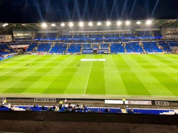 Cardiff City Stadium, secção: 514, fila: A, lugar: 93