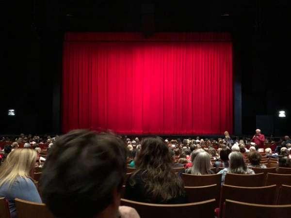 Durham Performing Arts Center, secção: Orchestra 3, fila: S, lugar: 111